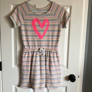 Circo striped short sleeve dress